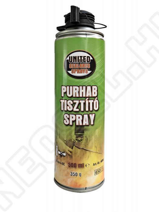 Tisztítására alkalmas ipari spray